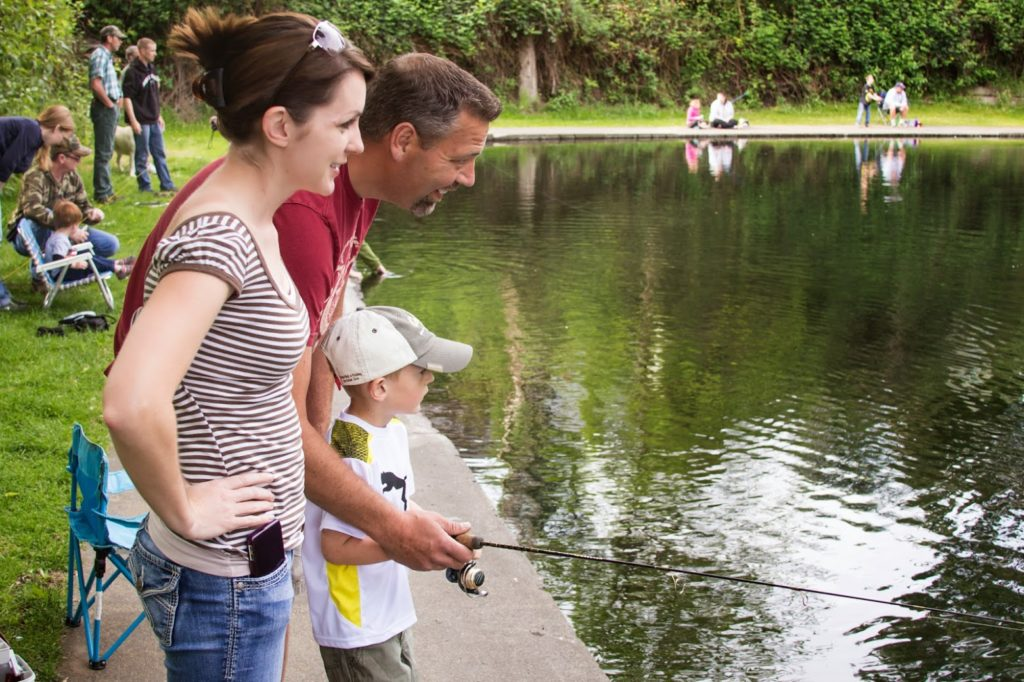 Give Now to Restore Youth Fishing at Lions Park Pond | Tri